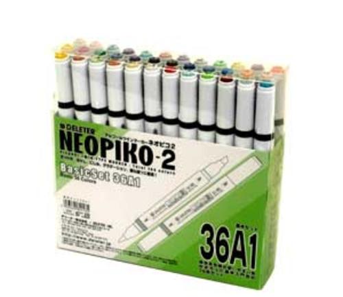 デリーター ネオピコ[2]基本36色セット(36A1)