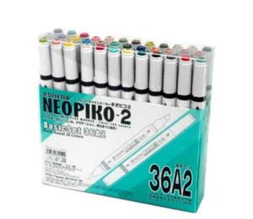 デリーター ネオピコ[2]基本36色セット(36A2)