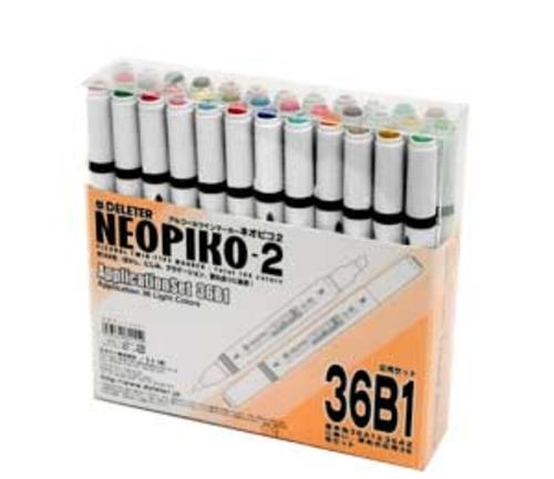 デリーター ネオピコ[2]応用36色セット(36B1)