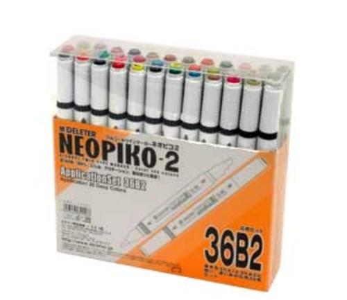 デリーター ネオピコ[2]応用36色セット(36B2)