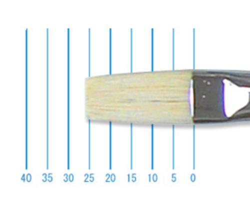 ホルベイン油彩筆 EL-h(フラット・豚毛)14号