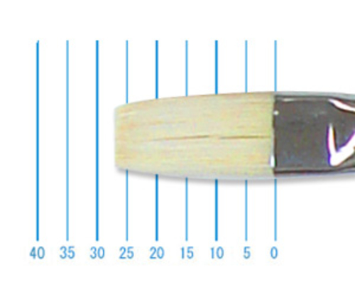 ホルベイン油彩筆 EL-h(フラット・豚毛)16号