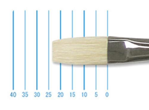 ホルベイン油彩筆 KM-H(フラット・豚毛)12号