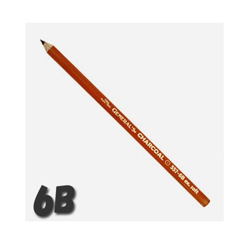 ゼネラル チャコールペンシル 557-6B