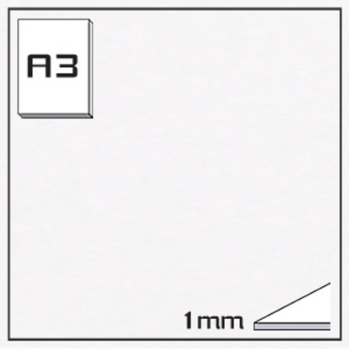 ミューズ KMKケントボード S-A3[10枚組]1mm厚