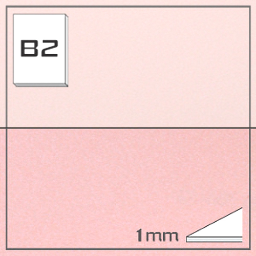 ミューズ NTラシャボード NT702-B2[10枚組]1mm厚