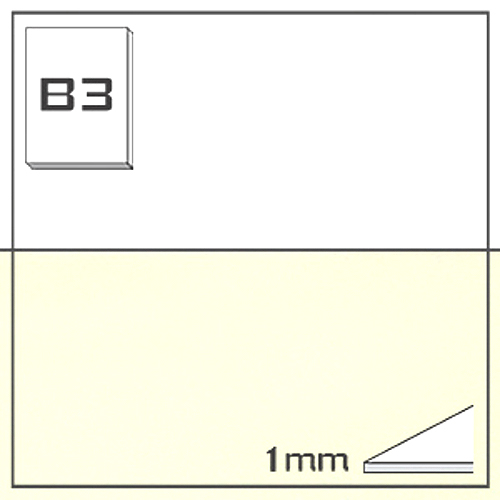 ミューズ NTラシャボード NT701-B3[10枚組]1mm厚