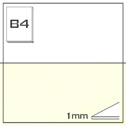 ミューズ NTラシャボード NT701-B4[10枚組]1mm厚