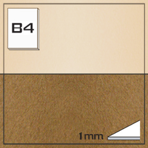 ミューズ NTラシャボード NT704-B4[10枚組]1mm厚