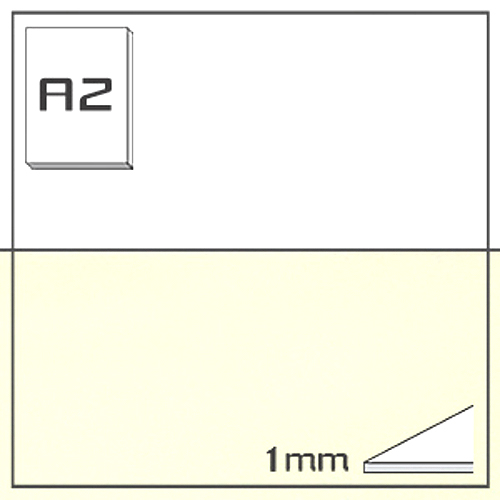 ミューズ NTラシャボード NT701-A2[10枚組]1mm厚