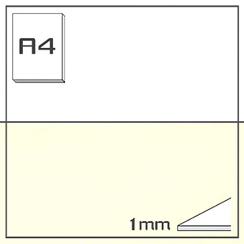 ミューズ NTラシャボード NT701-A4[10枚組]1mm厚