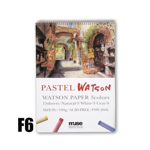 ミューズ パステルワトソンブック F6(PSW-2606)