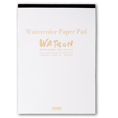 ミューズ ホワイトワトソンパッド A4(PD-6244)