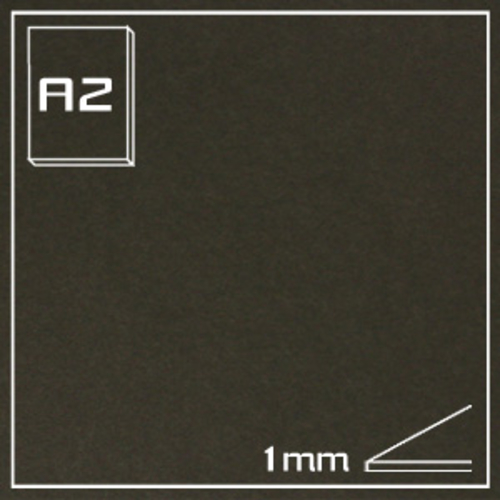 オリオン ブラックボード(無垢) RA-A2[10枚組]1mm厚