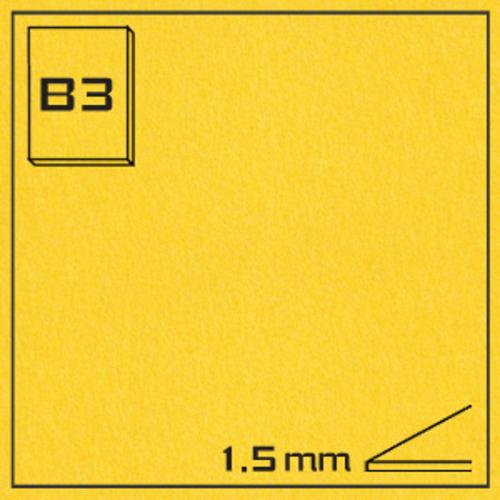 オリオン エクストラカラーボード EA-B3・イエロー[10枚組]1.5mm厚