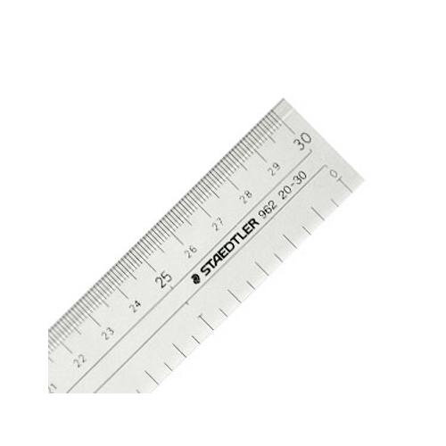 ステッドラー 直線定規[両側目盛]30cm(962 20-30)