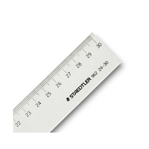 ステッドラー 直線定規[片側目盛]30cm(962 24-30)