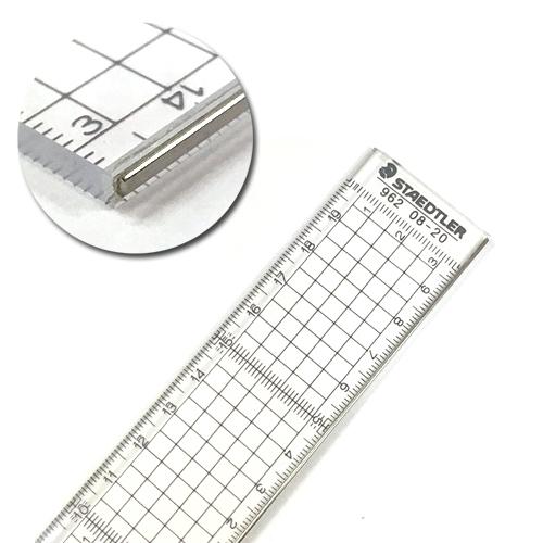 ステッドラー カッティング用方眼定規20cm(962 08-20)