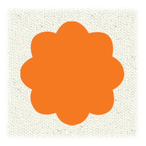ターナー布えのぐ20ml 14オレンジ
