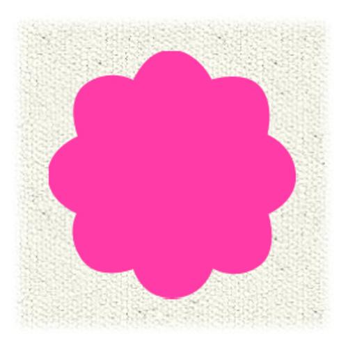 ターナー布えのぐ20ml 105蛍光ピンク