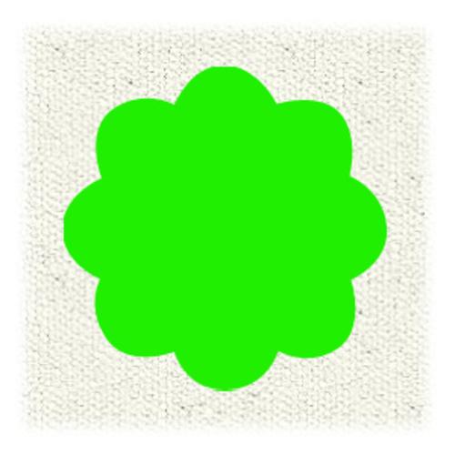 ターナー布えのぐ20ml 108蛍光グリーン