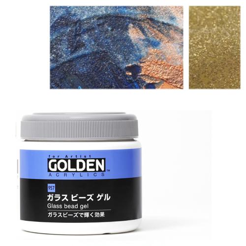 ゴールデン ガラスビーズゲル350ml