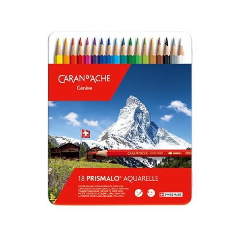 カランダッシュ プリズマロ水溶性色鉛筆 18色セット