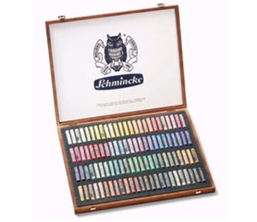 シュミンケ ソフトパステル[木箱]100本(98色)セット
