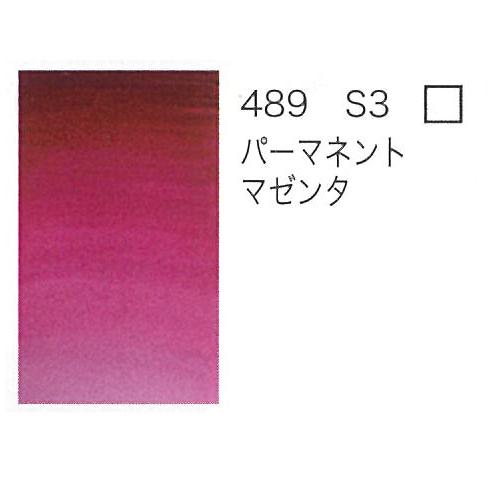 W&N プロフェッショナル水彩2号(5ml) 489パーマネントマゼンタ