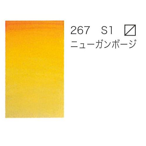 W&N プロフェッショナル水彩ハーフパン 267ニューガンボージ