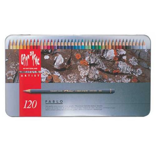 カランダッシュ パブロ色鉛筆 120色セット(缶入)