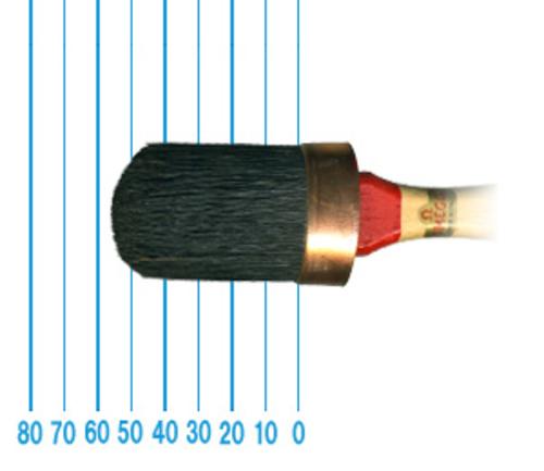 オメガ ペイントブラシ 380(オーバル)35号
