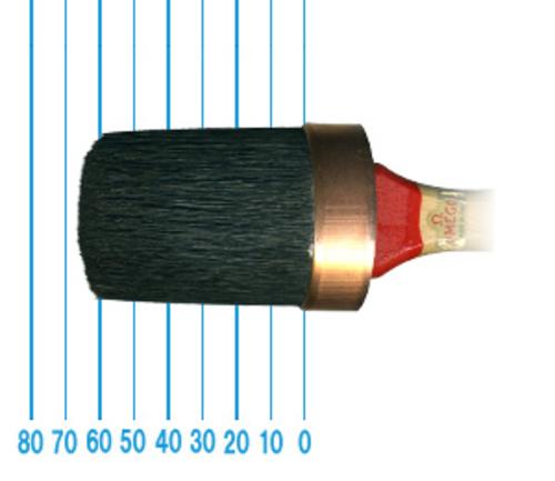 オメガ ペイントブラシ 380(オーバル)45号