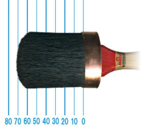 オメガ ペイントブラシ 380(オーバル)50号