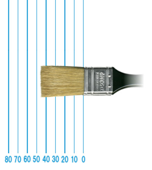 オメガ ペイントブラシ 42(フラット)#30