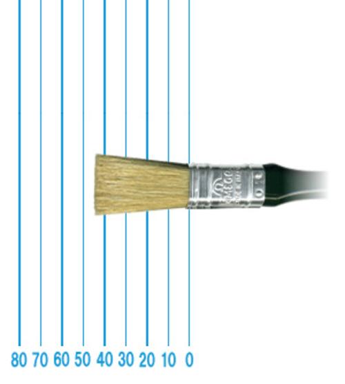 オメガ ペイントブラシ 43(フラット)#20