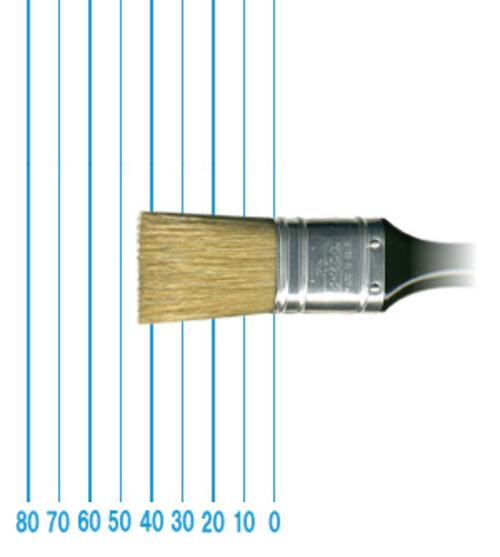 オメガ ペイントブラシ 43(フラット)#30