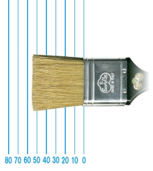 オメガ ペイントブラシ 45(フラット)#50