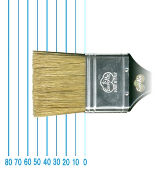 オメガ ペイントブラシ 45(フラット)#60