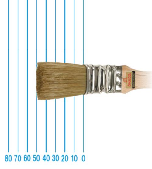 オメガ ペイントブラシ 49(フラット)#30