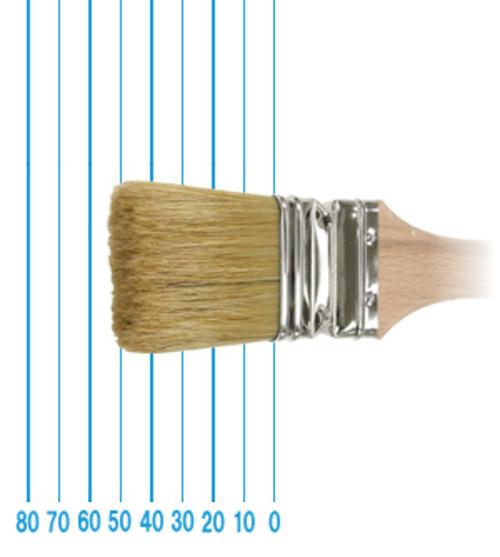 オメガ ペイントブラシ 49(フラット)#50