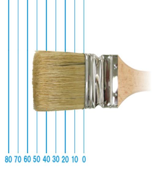 オメガ ペイントブラシ 49(フラット)#60