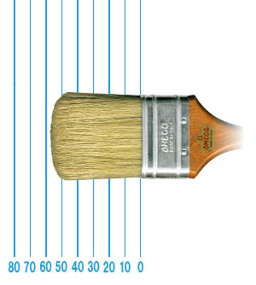 オメガ ペイントブラシ 57(フラット)#2