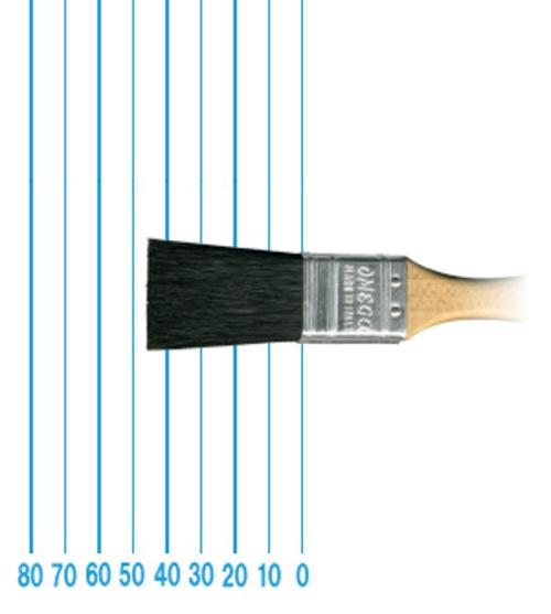 オメガ ペイントブラシ 510(フラット)#1