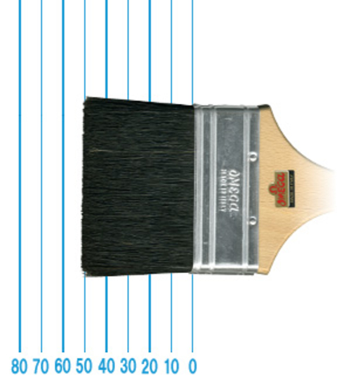 オメガ ペイントブラシ 510(フラット)#3