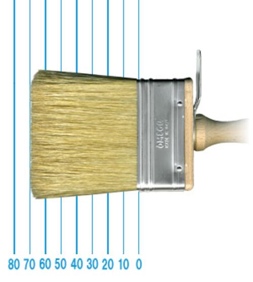 オメガ ペイントブラシ 80(フラット)3x7