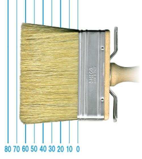 オメガ ペイントブラシ 80(フラット)3x10