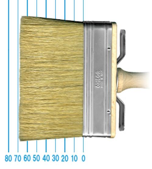 オメガ ペイントブラシ 80(フラット)3x12