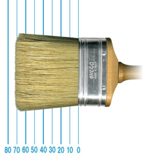 オメガ ペイントブラシ 1013(フラット)3x7