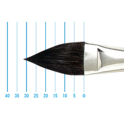 レンブラント水彩筆 132(オーバル・リス)4号